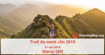Trail du mont clin 2019