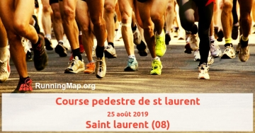 Course pedestre de st laurent