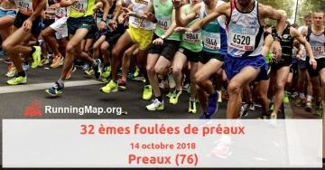 32 èmes foulées de préaux
