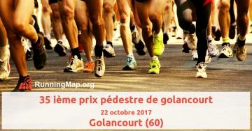35 ième prix pédestre de golancourt