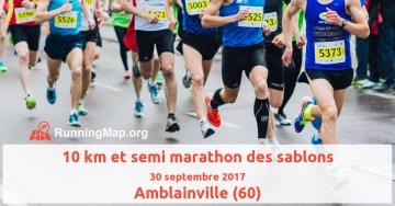 10 km et semi marathon des sablons
