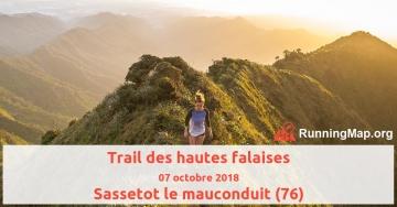 Trail des hautes falaises