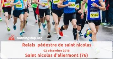 Relais  pédestre de saint nicolas