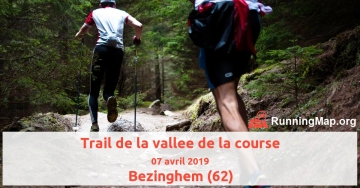 Trail de la vallee de la course