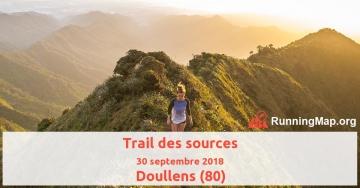 Trail des sources