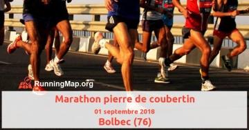 Marathon pierre de coubertin