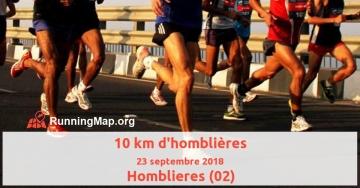 10 km d'homblières