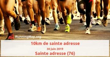 10km de sainte adresse