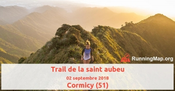 Trail de la saint aubeu