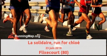 La solidaire, run for chloé