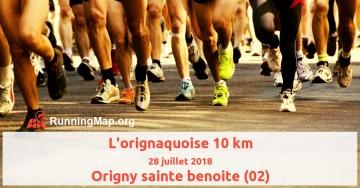 L'orignaquoise 10 km
