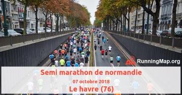 Semi marathon de normandie