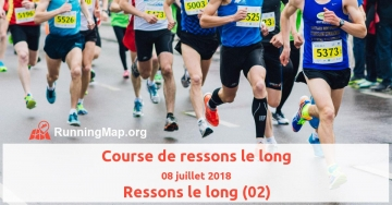 Course de ressons le long