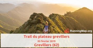 Trail du plateau grevillers