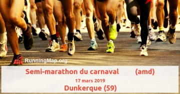 Semi-marathon du carnaval         (amd)