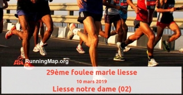 29ème foulee marle liesse