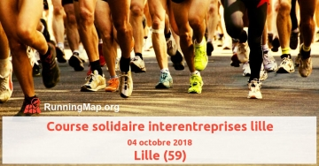 Course solidaire interentreprises lille