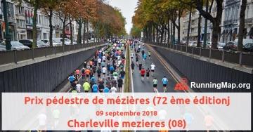 Prix pédestre de mézières (72 ème éditionj