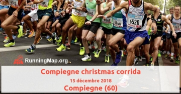 Compiegne christmas corrida