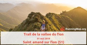 Trail de la vallee du fion