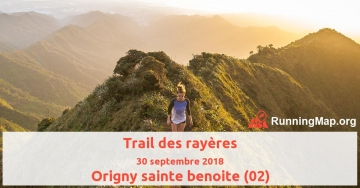 Trail des rayères