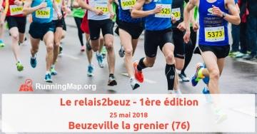 Le relais2beuz - 1ère édition