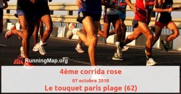 4ème corrida rose