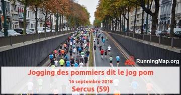 Jogging des pommiers dit le jog pom