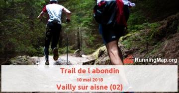 Trail de l abondin