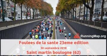 Foulees de la sante 23eme edition