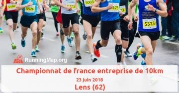 Championnat de france entreprise de 10km