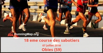18 eme course des sabotiers