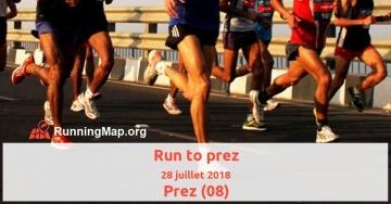Run to prez