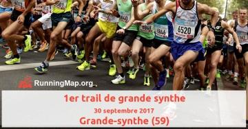 1er trail de grande synthe