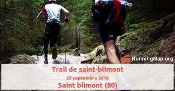 Trail de saint-blimont