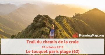 Trail du chemin de la craie