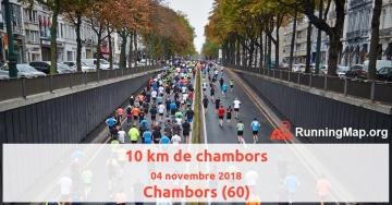10 km de chambors