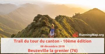 Trail du tour du canton - 10ème édition