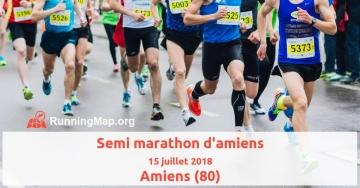 Semi marathon d'amiens