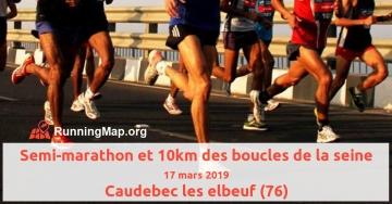 Semi-marathon et 10km des boucles de la seine