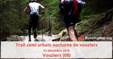 Trail semi urbain nocturne de vouziers