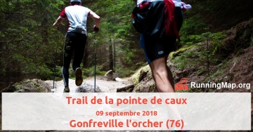 Trail de la pointe de caux